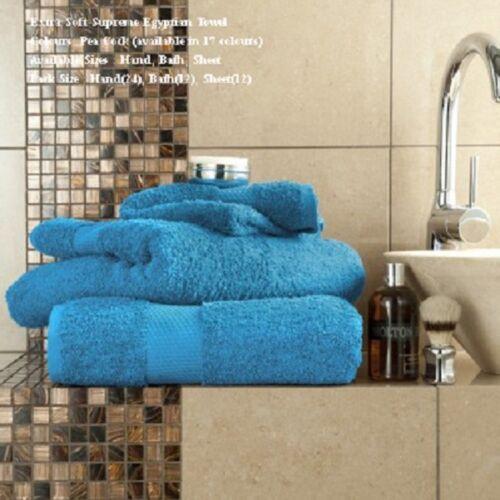 Egyptian Cotton Towels Hand Bath Sheet Large Bathroom New Luxury Miami 700 GSM