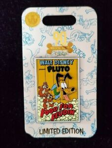 Disney-Pluto-90th-Anniversary-Pin-Food-for-Feudin-039-Limited-Edition