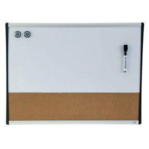 Quartet Magnetic Combination White Board 460x610mm Cork/Memo/Note Wall Mountable