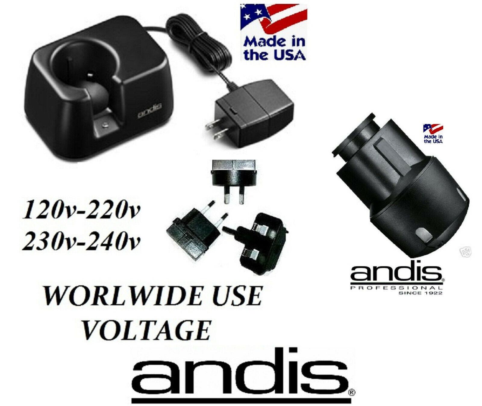 Andis Super AGR+,BGR+ (PLUS),BGRC AGRC PowerGroom BATTERY &CHARGER CHARGING BASE