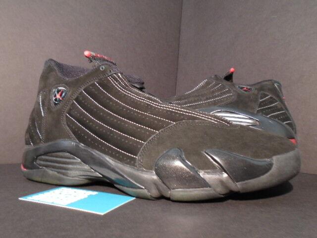 Nike Air Jordan XIV 14 Retro CDP COUNTDOWN LAST SHOT PLAYOFF BLACK RED BRED 13