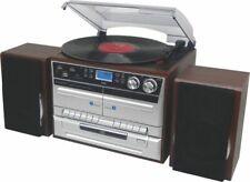 Artikelbild Soundmaster MCD5550DBR Silber-Braun DAB+ USB CD Plattenspieler Kassette