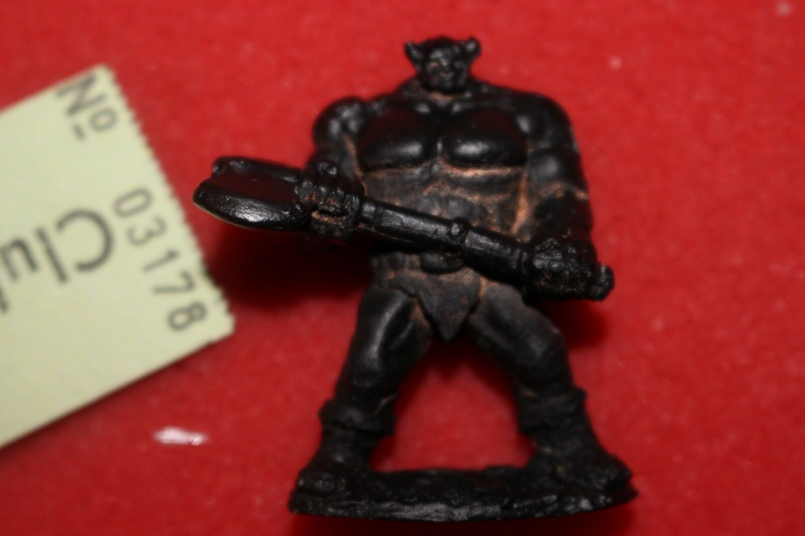 Citadel White Dwarf Personalities Thrud Limited Edition Metal Figure Warhammer