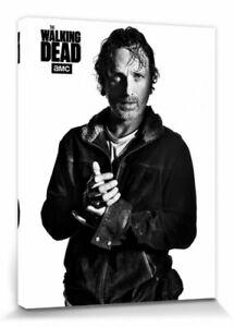 The-Walking-Dead-Rick-Poster-Leinwand-Druck-Bild-80x60cm-105307