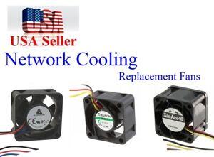 Details about 3x NEW Quiet version Fans for Cisco Catalyst Fan Kit Cisco  2900 2912 2924-XL-EN
