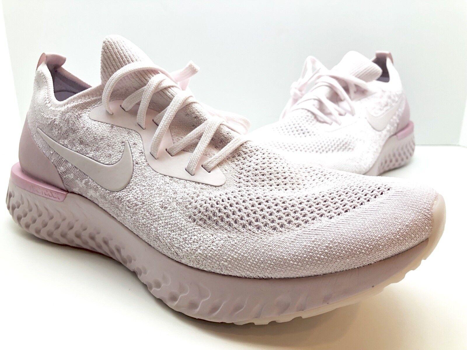 e9285f822dd Nike Epic React Flyknit Mens Running Shoes Pearl Pink Aq0067 600 Sz ...