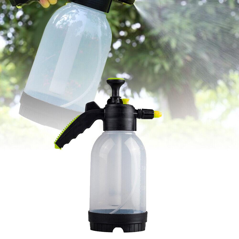 2L Flowers Watering Can Pneumatic Watering Pot Irrigation Sprinkler Kettle Spray