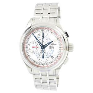 Ball-Men-039-s-Watch-Trainmaster-Chronograph-White-Dial-Bracelet-CM1010D-SJ-WH