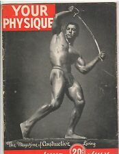 Your Physique Bodybuilding muscle magazine DAN LURIE 7-44