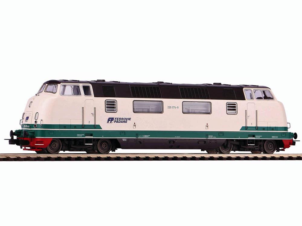 PIKO 59716 DIESEL BR 220 Ferrovie padana h0