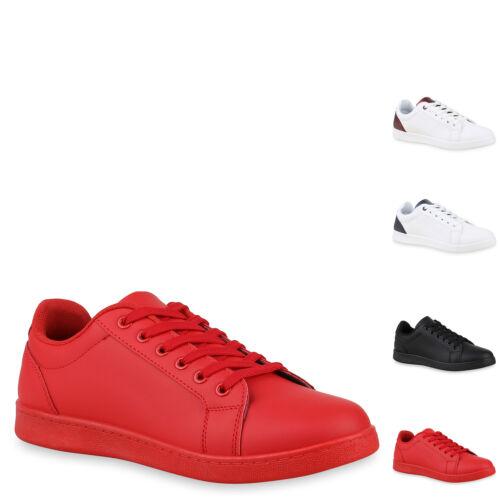 Herren Sneaker Low Turnschuhe Schnürer Freizeitschuhe 897497 Mens Special