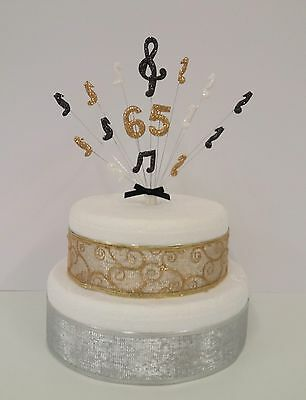 Pleasing Musical Note Music Birthday Personalised Age Cake Topper Cake Funny Birthday Cards Online Inifofree Goldxyz