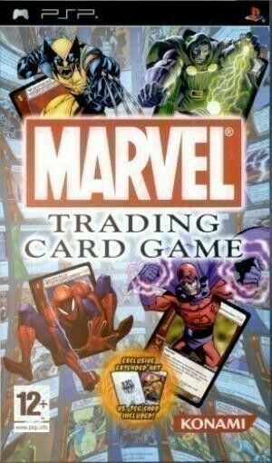Sony PSP / Playstation Portable Spiel - Marvel Trading Card Game mit OVP