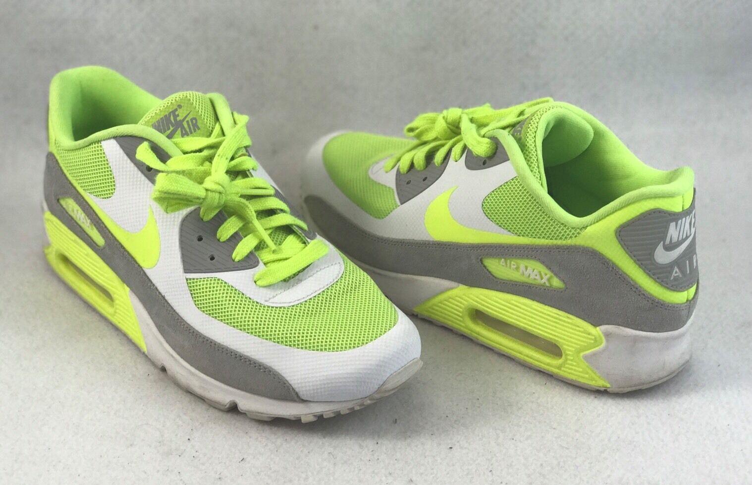 Nike air max 90 premio campione volt lupo grigio / bianco / verde Uomo sz 9 - 1092