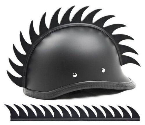 cresta per casco  CRESTA PER CASCO Helmet Mohawk SAW BLADE RACING MOTOCROSS Biker Ski ...