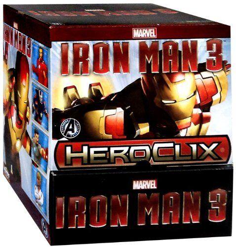 Iron Man 3 Display box Avengers Initiative 24packs MARVEL HEROCLIX