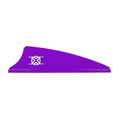 """Bohning Shield Cut X Vanes 1.75/"""" Purple 100 Pack"""
