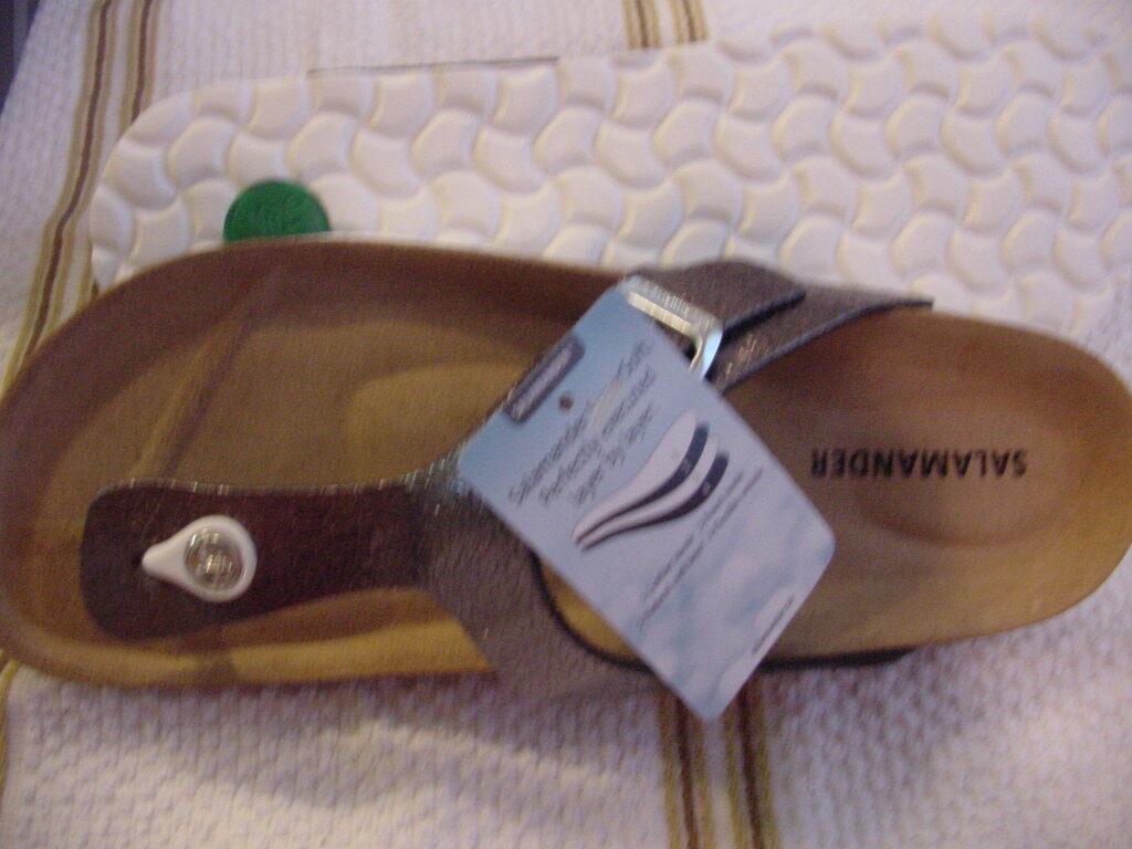 Salamander  Dublins/Gizeh    39  L 8  Metallic Leder Antrazit Soft Footbed