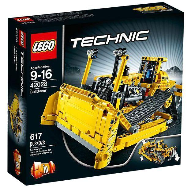 LEGO ® Technic 42028 Bulldozer NUOVO OVP NEW MISB NRFB