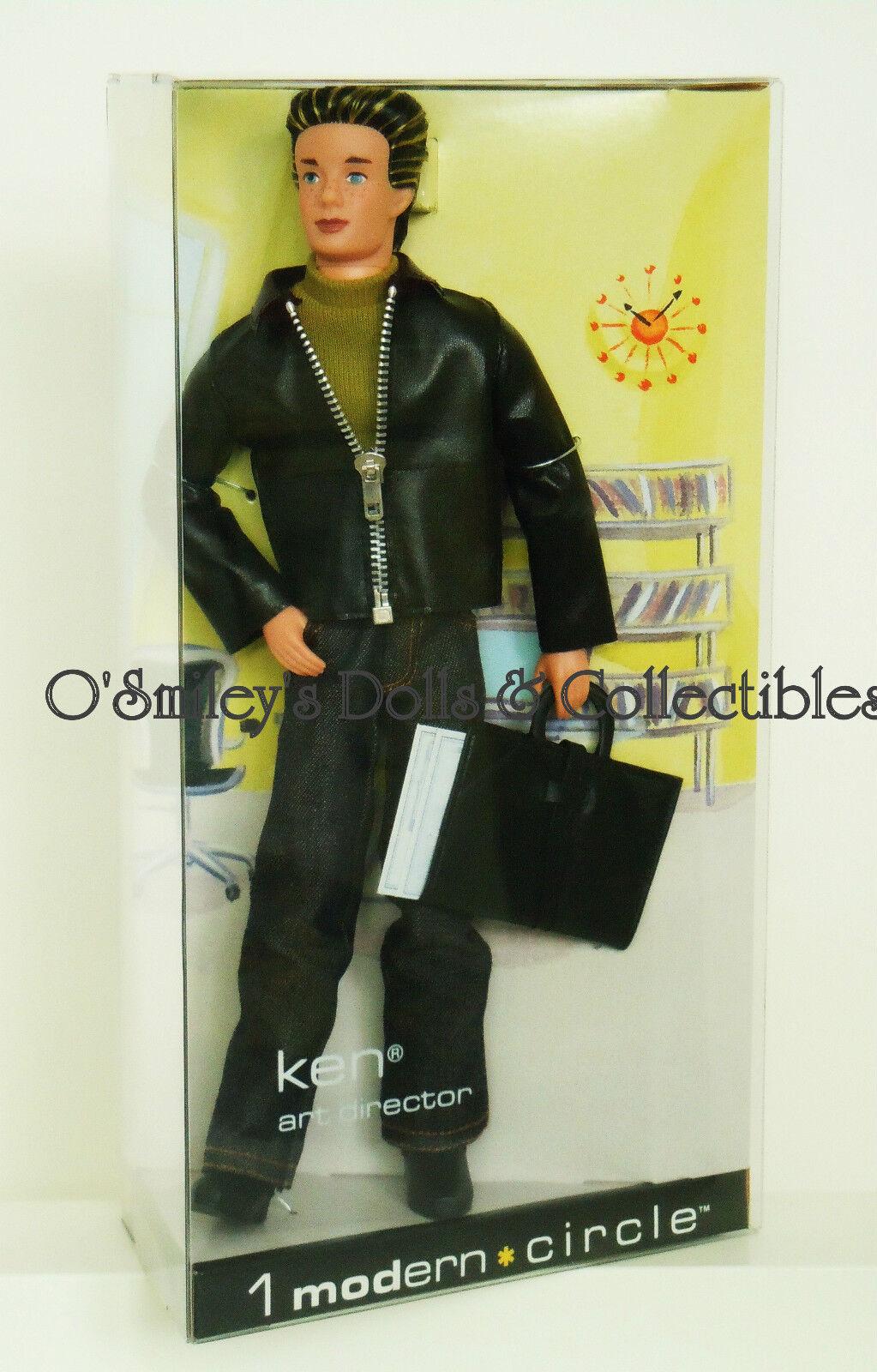 1 Moderno círculo Ken 2003 director de arte Articulada De Barbie Vintage fm_b2524_nrfb