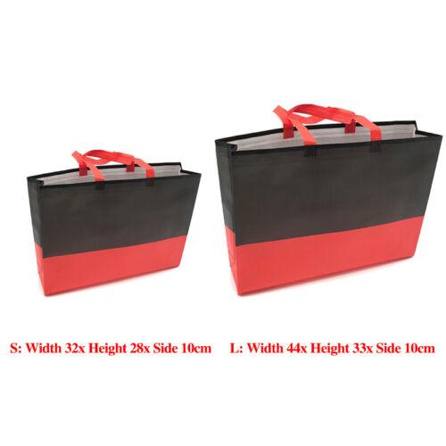 Eco Foldable Shopping Bag Reusable Non-Woven Fabric Tote Grocery Bag Handbag