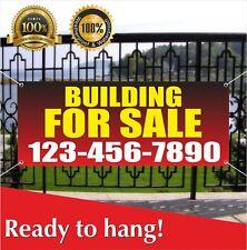 Building For Sale Banner Vinyl Mesh Banner Sign Resale Rent Home Office Farm