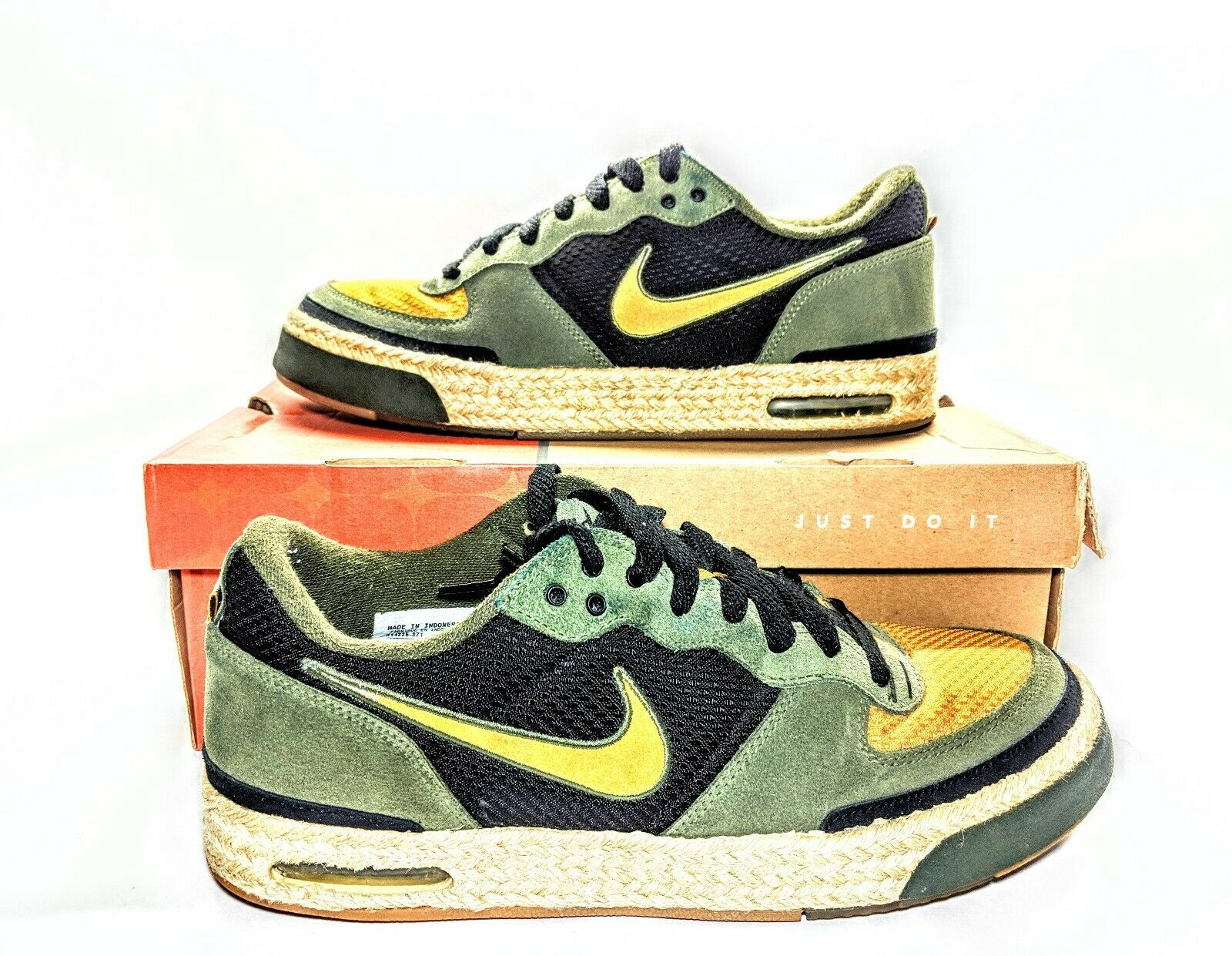 5e0478da8e4ed6 Nike Air Captivate Mens shoes Army Olive Olive Olive Chutney Men s Sz 11 w  Box 314336