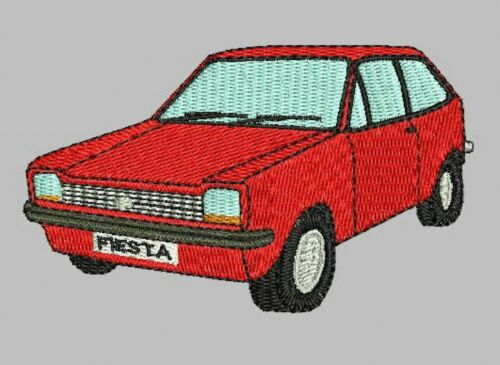 Ford Fiesta Embroidered /& Personalised Polo Shirt