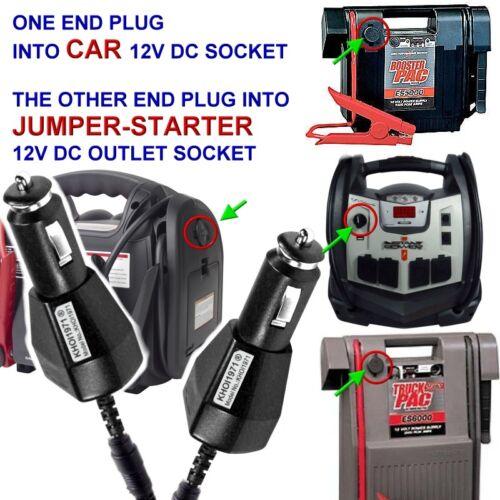 FAST CAR Charger adapter for Ever Start 1200A 750A jump starter EverStart