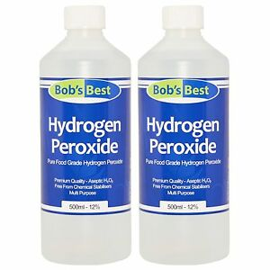 Food Grade Hydrogen Peroxide 1199 Solution 1000ml From Bobs