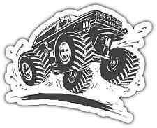 "Monster Truck Racing Large Wheels Car Bumper Window Tool Box Sticker Decal 5""X4"""