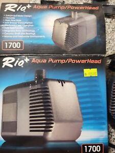 New Rio Plus 1700 Ul Submersible Aquarium Water Pump Powerhead Hydroponics Considerate