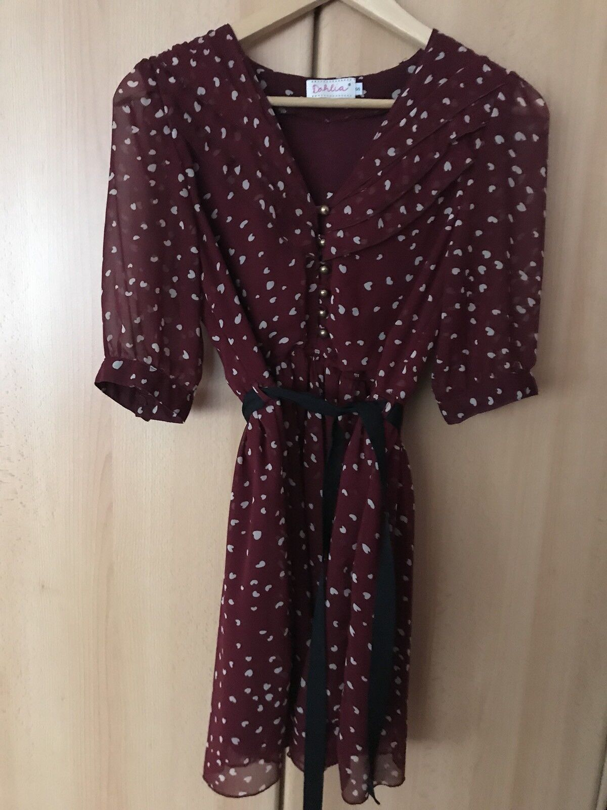 Dahlia Asos Kleid Damenkleid Sommerkleid 36 S