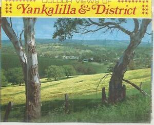 FOLD OUT VIEWS OF YANKALILLA & DISTRICT  SOUTH AUSTRALIA POSTCARD