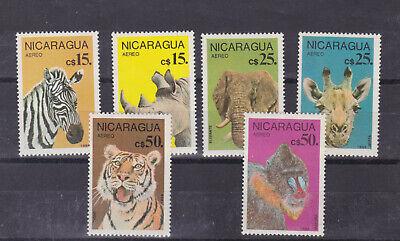 Nicaragua Latin America Nicaragua 1986 Sc C1137/42 Set,mnh O1973 Wide Varieties