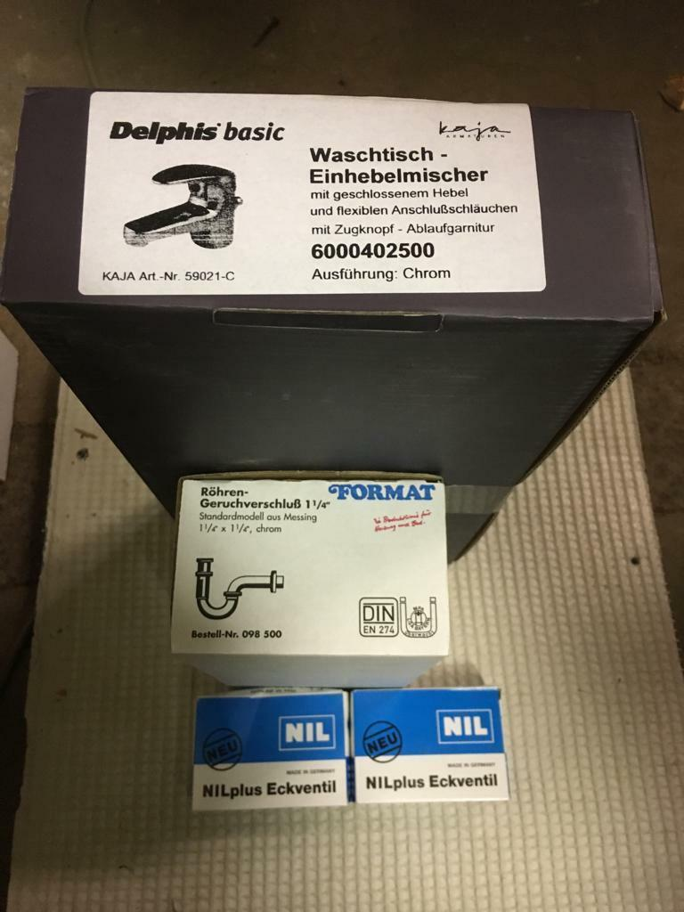 Delphis basic Waschtisch-Einhebelmischer 6000402500   KAJA 59021-C als Set | In hohem Grade geschätzt und weit vertrautes herein und heraus  | Wirtschaft  | Verwendet in der Haltbarkeit  | Exzellente Verarbeitung
