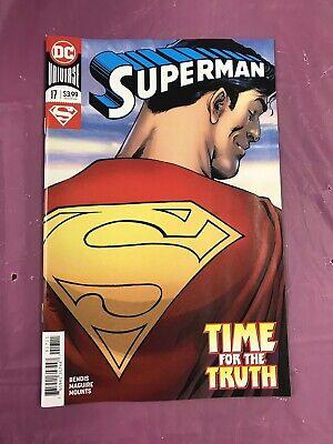 The Truth Part 1 NM #18 2018 DC Bendis//Pardo Superman