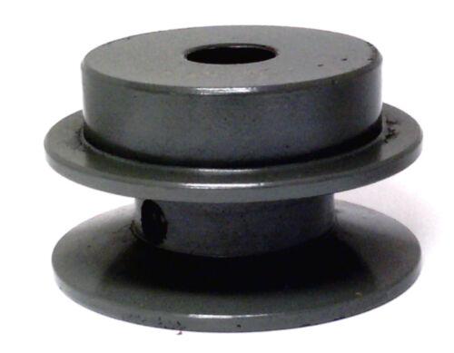 "1 GROOVE V-BELT Sheave Pulley BK20-1//2/"" cast iron 2/"" DIAMETER 1//2/"" BORE 4L,5L"