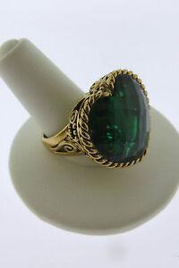 Sajen-Bronze-Ring-by-Marianna-and-Richard-Jacobs-Amore-Heart-Shape-Green-Quartz