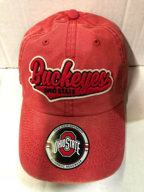 meet 1cac8 40250 Ohio State Buckeyes Hat Adjustable Men s Distressed Park Top of The World  NCAA