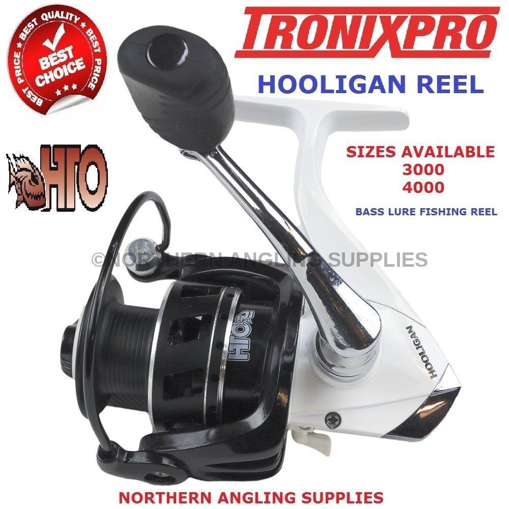 TRONIX PRO HTO HOOLIGAN 4000 Reel For LRF Fishing