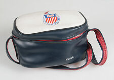 KODAK OLYMPIC 1972 RED WHITE AND BLUE CAMERA CASE W/STRAP
