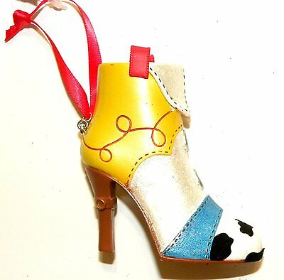 Disney Parks Jessie Toy Story Runway Collection Shoe Ornament NWT