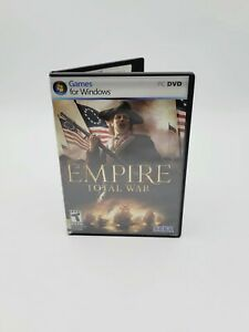 Empire: Total War (PC Games DVD-ROM, 2007) Disc 1&2 with Manual