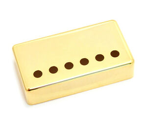 (1) Seymour Duncan Gold Sh Series Humbucker Classic Pickup Cover 11800-20-gc-afficher Le Titre D'origine