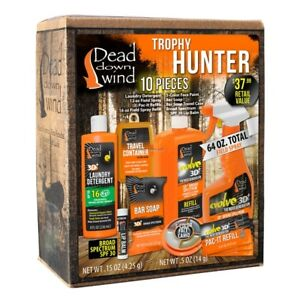 NEW-Dead-Down-Wind-Trophy-Hunter-Kit-10-Piece-2085