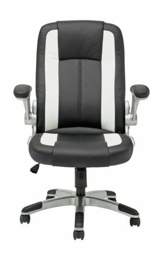 Argos Home Dexter Gas Lift Adjustable Office Chair - White - E185