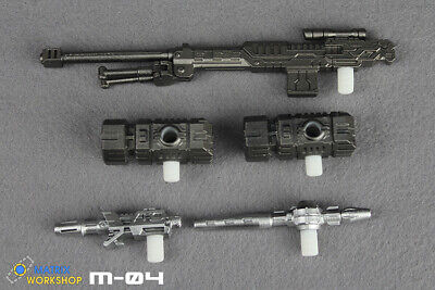 For Transformation Matrix Workshop M-04 Weapon Upgrade For SIEGE Deluxe