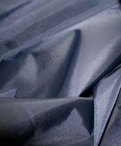 Waterproof-4oz-NYLON-Fabric-Material-PU-Coated-NAVY-Bulk-Discounts