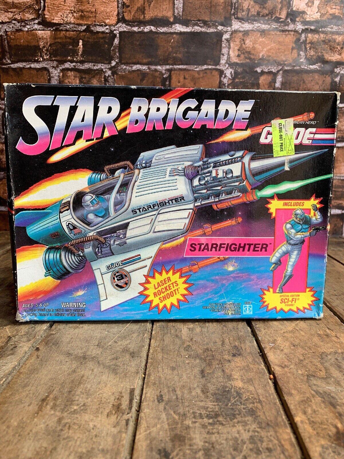 GI Joe Star Birgade Starfighter 1993 MIB SEALED   Original Hasbro Box ARAH